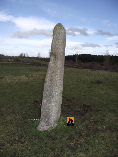 GREAT CONNELL STANDING STONE, COUNTY KILDARE