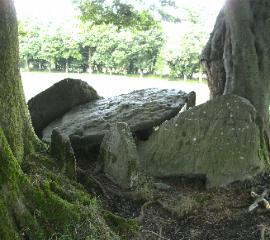 KEENRATH WEDGE TOMB COUNTY CORK