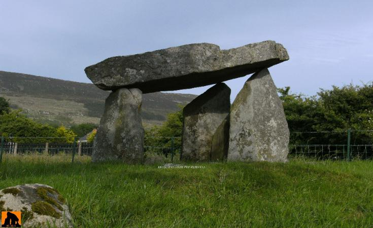 BALLYKEEL PORTAL TOMB, COUNTY ARMAGH