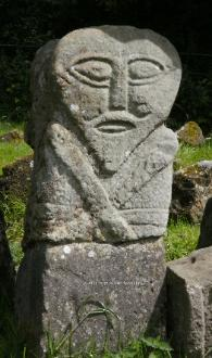 Boa Island Carved Stone Figure, Co. Fermanagh