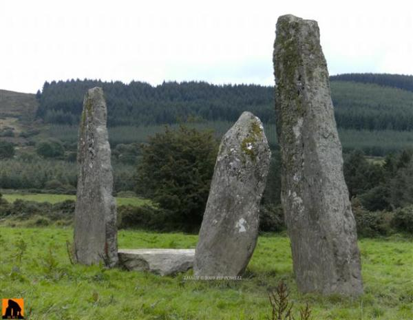 GARRANE STONE ROW, COUNTY CORK